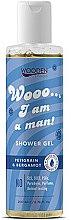 Profumi e cosmetici Gel doccia - Wooden Spoon I Am A Man Shower Gel