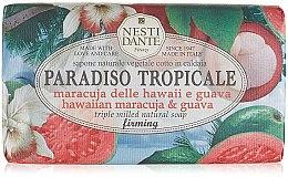 """Profumi e cosmetici Sapone """"Maracuja e guava"""" - Nesti Dante Paradiso Tropicale Hawaiian Maracuja & Guava Soap"""