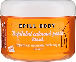 Profumi e cosmetici Pasta di zucchero depilatoria - Epill Body Depilation Naturally With Sugar Classic