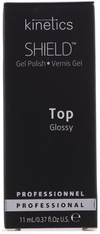 Top Coat per smalto gel - Kinetics Shield Gel Polish Glossy Top