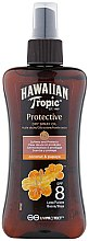 Profumi e cosmetici Olio secco abbronzante - Hawaiian Tropic Protective Dry Oil Spray SPF 8