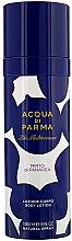 Profumi e cosmetici Lozione corpo - Acqua di Parma Blu Mediterraneo Mirto di Panarea