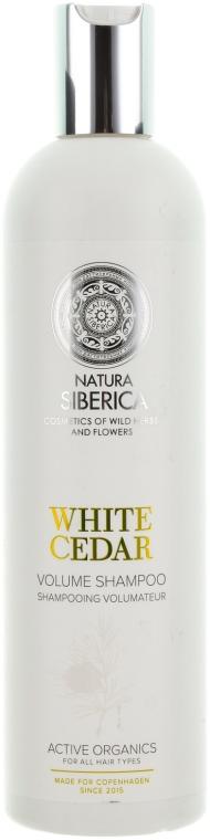 "Shampoo idratante ""Cedro bianco"" - Natura Siberica Copenhagen White Cedar Volume Shampoo"