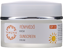 Profumi e cosmetici Crema solare - Yamuna Sunscreen Cream SPF 25