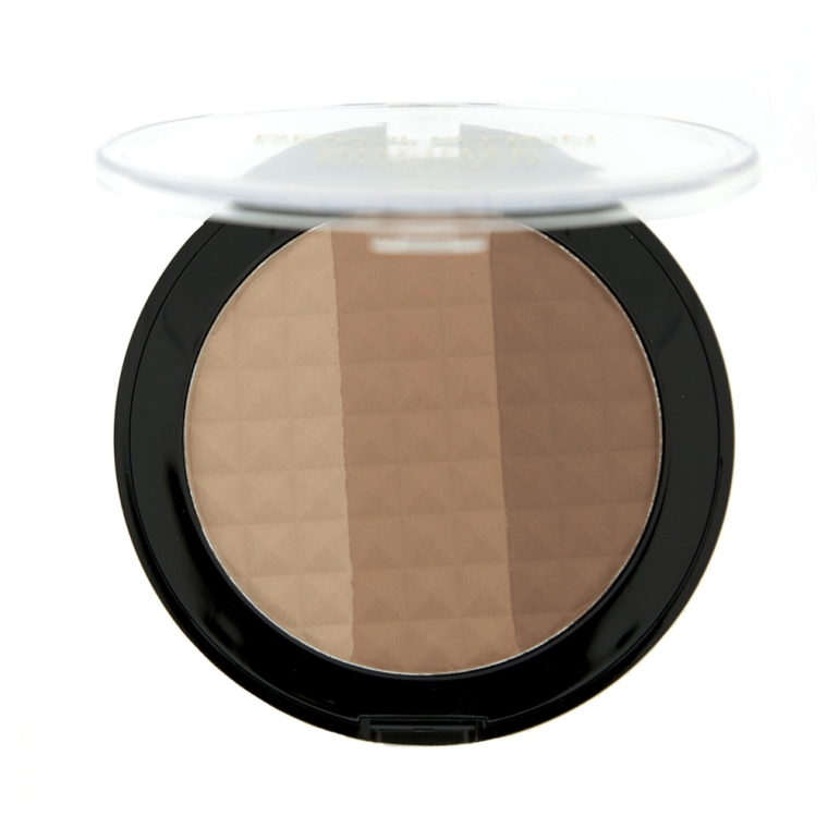 Bronzer-illuminante viso - Makeup Revolution Ultra Bronze, Shimmer and Highlight — foto N2