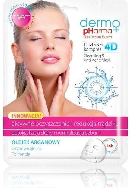 Maschera detergente anti-acne - Dermo Pharma Skin Repair Expert Cleansing Anti Acne Mask 4D