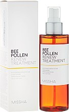 Profumi e cosmetici Spray viso rinfrescante - Missha Bee Pollen Renew Treatment
