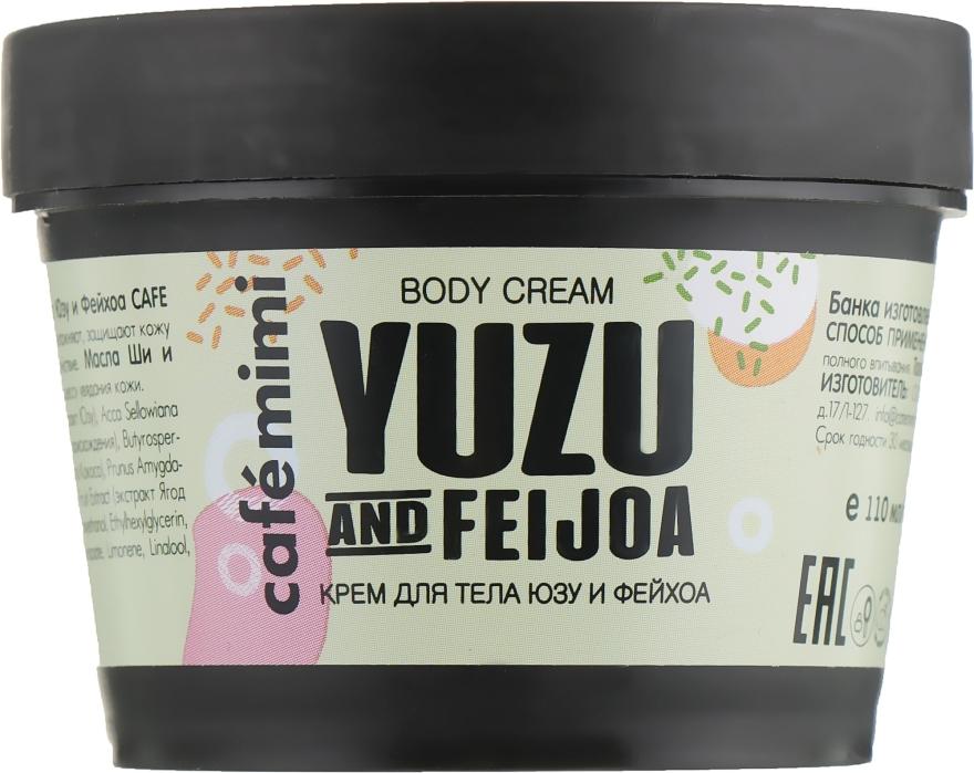 "Crema corpo ""Yuzu e Feijoa"" - Cafe Mimi Body Cream Yuzu And Feijoa"