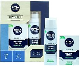 Profumi e cosmetici Set - Nivea for Men Shave Master Gift Set (sh/foam/200ml+post/shave/balm/100ml)