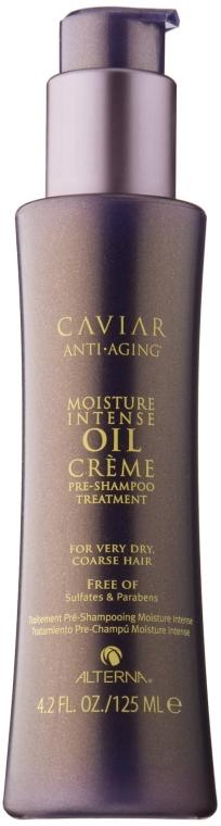 """Shampoo per capelli """"Recupero intensivo"""" - Alterna Caviar Moisture Intense Oil Creme Pre-Shampoo Treatment — foto N3"""