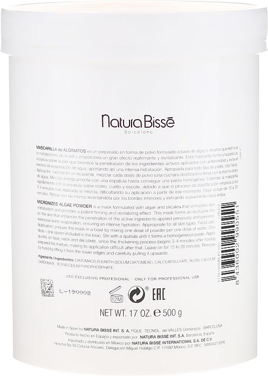 Maschera plastificante con alghe - Natura Bisse Micronized Algae Powder — foto N2