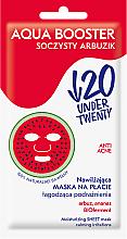 Profumi e cosmetici Maschera viso idratante e lenitiva - Under Twenty Anti Acne Aqua Booster Juicy Watermelon Face Mask