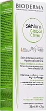 Profumi e cosmetici Crema tonificante - Bioderma Sebium Global Cover Cream