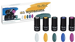Profumi e cosmetici Set - NeoNail Professional Wyrazista Set (5 x nail/polish/3ml)