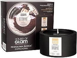 Profumi e cosmetici Candela profumata - House of Glam Brownie Intenso Candle