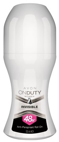 Deodorante antitraspirante - Avon On Duty Invisible 48H Anti-persrirant