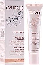 Profumi e cosmetici Fondotinta idratante per la pelle scura - Caudalie Teint Divin Mineral Tinted Moisturizer