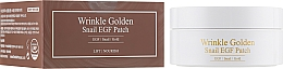 Profumi e cosmetici Patch occhi in idrogel con oro e bava di mucina - The Skin House Wrinkle Golden Snail EGF Patch