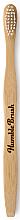 Profumi e cosmetici Spazzolino da denti, di bambù, bianco - Humble Brush