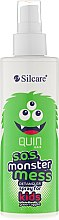 Spray per capelli - Silcare Quin S.O.S. Monster Mess Kids Hair Spray — foto N1