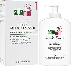 Profumi e cosmetici Lozione detergente viso e corpo con dosatore - Sebamed Liquid Face and Body Wash