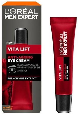 Crema contorno occhi antietà - L'Oreal Paris Men Expert Vita Lift Anti-Ageing Eye Cream — foto N1