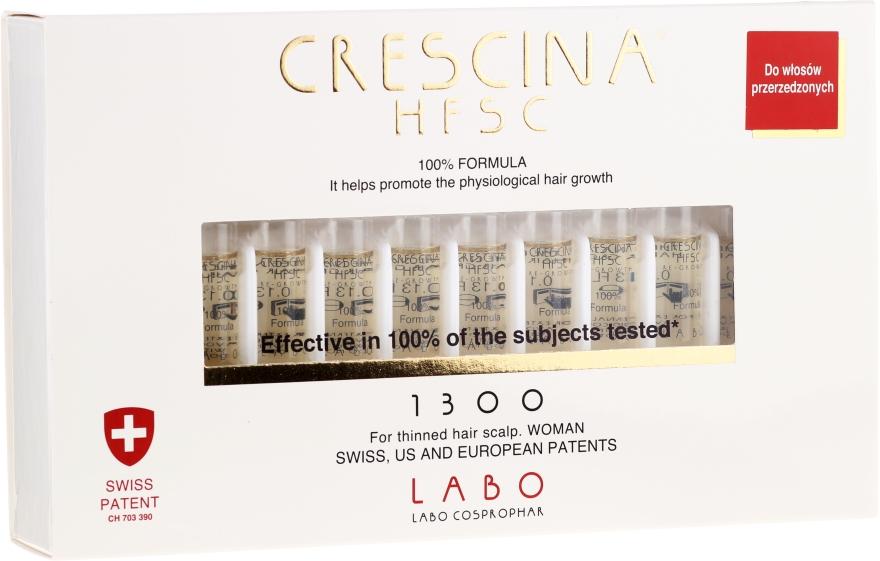 Fiale per la crescita dei capelli - Labo Crescina HFSC Re-Growth 1300