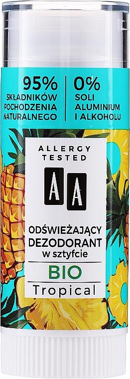 Deodorante rinfrescante - AA Bio Tropical Deodorant Stick