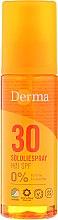 Profumi e cosmetici Olio solare corpo - Derma Sun Sun Oil SPF30 High