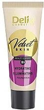 Profumi e cosmetici Fondotinta idratante - Delia Mineral Velvet Skin