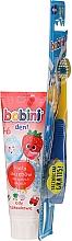 Profumi e cosmetici Set 1-6 anni - Bobini (toothbrush + toothpaste/75ml)