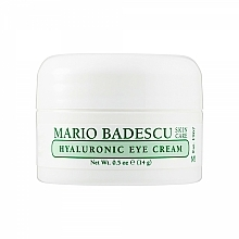 Profumi e cosmetici Crema contorno occhi ialuronica - Mario Badescu Hyaluronic Eye Cream