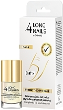 Profumi e cosmetici Siero rinforzante intensivo per unghie - Long4Lashes Intensive Strenghtening Nail Serum