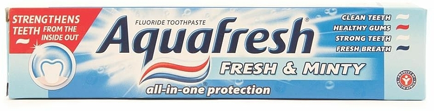 Dentifricio - Aquafresh All In One Protection Fresh & Minty Toothpaste