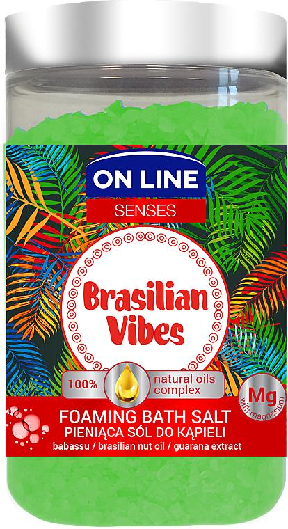 Sale da bagno - On Line Senses Bath Salt Brasilian Vibes
