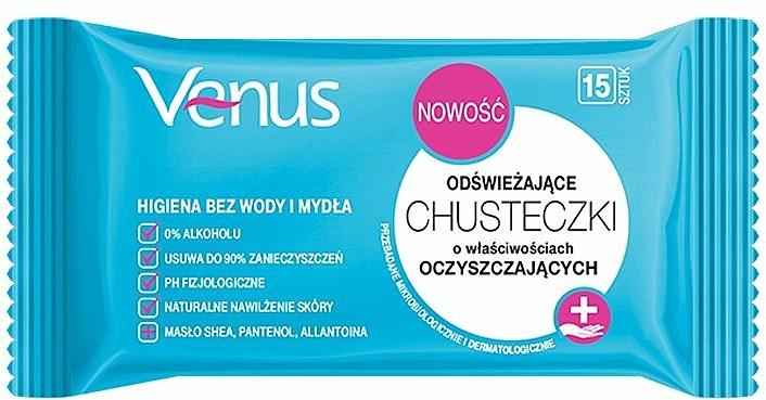 Salviettine umidificate rinfrescanti - Venus Refreshing Wipes — foto N1