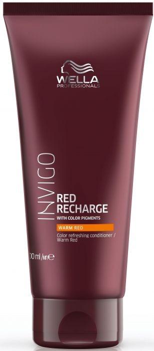 Condizionante per capelli colorati - Wella Professionals Invigo Color Recharge Warm Red Conditioner