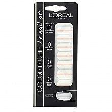 Profumi e cosmetici Adesivi per unghie - L'Oreal Paris Stickers Color Riche Le Nail Art