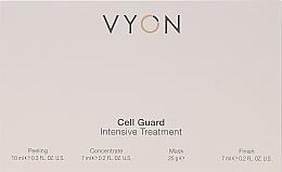 Profumi e cosmetici Set - Vyon Gell Guard Intensive Treatment (peel/10ml + conc/7ml + mask/25g + finish/7ml)