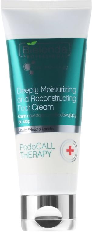 Crema piedi idratante e rigenerante - Bielenda Professional PodoCall Therapy Deeply Moisturizing And Reconstructing Foot Cream
