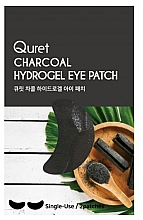 Profumi e cosmetici Patch occhi - Quret Charcoal Hydrogel Eye Patch