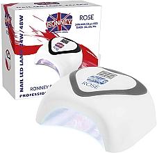 Profumi e cosmetici Lampada LED, argento - Ronney Profesional Rose LED 24W/48W (GY-LED-035) Lamp