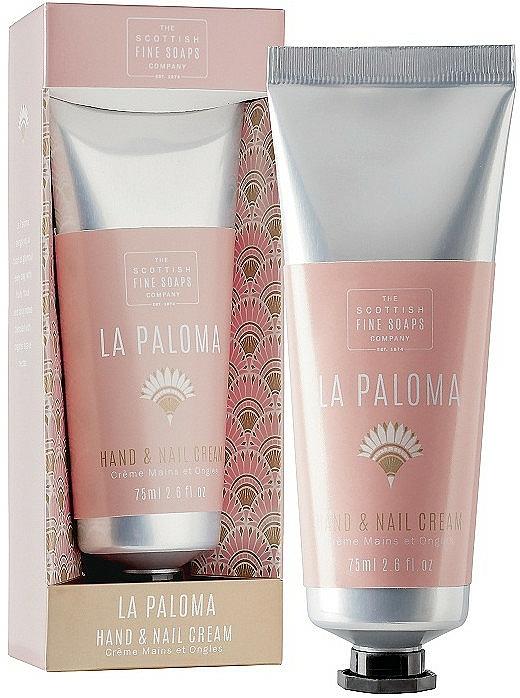 Crema mani e unghie - Scottish Fine Soap La Paloma Hand & Nail Cream — foto N1