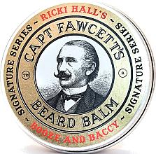 Profumi e cosmetici Balsamo per barba - Captain Fawcett Ricki Hall Booze & Baccy Beard Balm
