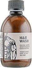Profumi e cosmetici Shampoo gel doccia rivitalizzante - Nook Dear Beard Hair Body Wash