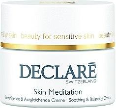 Profumi e cosmetici Crema lenitiva e rivitalizzante - Declare Skin Meditation Soothing & Balancing Cream