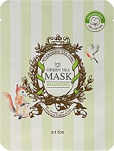 "Profumi e cosmetici Maschera viso ""Green Tea"" - A:t fox Balancing Green Tea Mask"