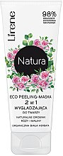 Profumi e cosmetici Maschera peeling viso - Lirene Natura Eco Peeling-Mask