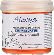Profumi e cosmetici Pasta di zucchero depilatoria al cioccolato - Alexya Sugar Paste Natural Chocolate
