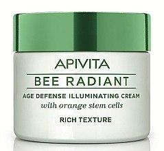 Profumi e cosmetici Crema viso - Apivita Bee Radiant Rich Cream